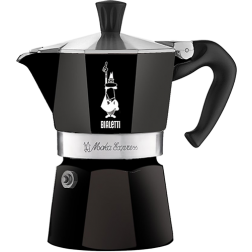 Bialetti Moka Express Black Espresso Coffee Maker 1 cup