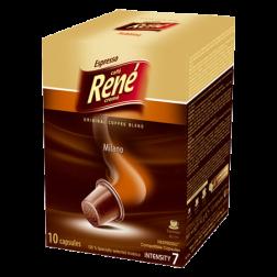 Café René Milano Nespresso coffee capsules 10pcs expired date