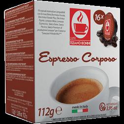 Caffè Bonini Corposo A Modo Mio coffee capsules 16pcs