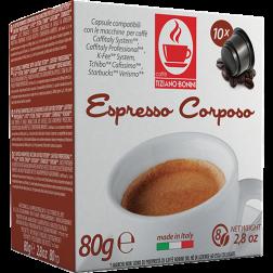Caffè Bonini Corposo Caffitaly coffee capsules 10pcs