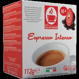 Caffè Bonini Intenso A Modo Mio coffee capsules 16pcs