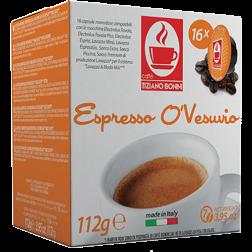 Caffè Bonini O'Vesuvio A Modo Mio coffee capsules 16pcs