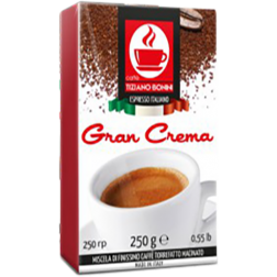 Caffè Bonini Gran Crema ground coffee 250g
