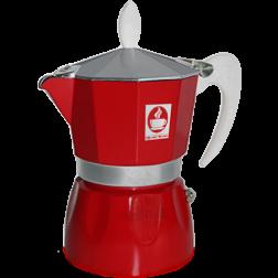 Caffè Bonini Red Espresso Coffee Maker 3 cups