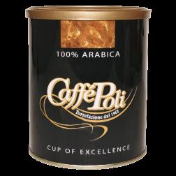 Caffè Poli 100% Arabica tincan ground coffee 250g