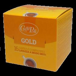 Caffè Poli A Modo Mio Gold coffee capsules 16pcs