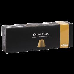 Caffè Mauro Onda d'oro Nespresso coffee capsules 10pcs expired date
