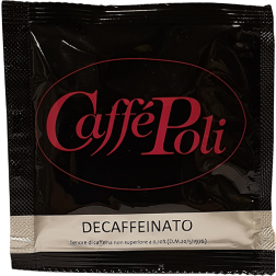 Caffè Poli Decaffeinato blue decaf coffee pods 1pcs