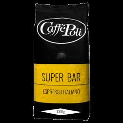 Caffè Poli SuperBar coffee beans 1000g
