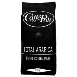 Caffè Poli 100% Arabica coffee beans 1000g