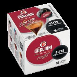 Cagliari Elite A Modo Mio coffee capsules 16pcs expired date