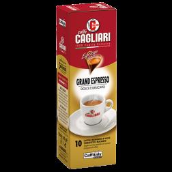 Cagliari Grand Espresso Caffitaly coffee capsules 10pcs