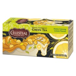 Celestial tea Honey Ginseng Lemon tea bags 20pcs