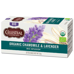 Celestial tea Organic Chamomile & Lavender tea bags 20pcs