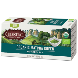 Celestial tea Organic Matcha Green tea bags 20pcs