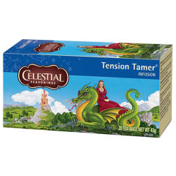 Celestial tea Tension Tamer tea bags 20pcs expired date