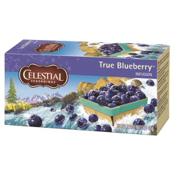 Celestial tea True Blueberry tea bags 20pcs expired date
