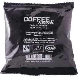 Coffeeplease ecological darkroast ground filter coffee 100g