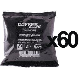 Coffeeplease ecological darkroast ground filter coffee 100g x60