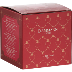 Dammann Frères Black Christmas Tea in tea bags 25pcs