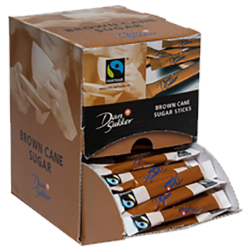 Dansukker cane sugar sticks fairtrade 4g x225