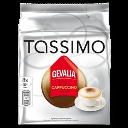 Gevalia Cappuccino Tassimo coffee capsules 8pcs x5