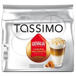 Gevalia Caramel Macchiato Tassimo coffee capsules 8pcs