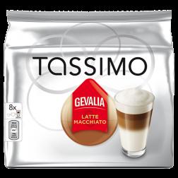 Gevalia Latte Macchiato Tassimo coffee capsules 8pcs