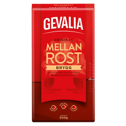Gevalia Medium Roast brew ground coffee 500g
