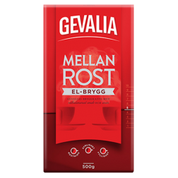 Gevalia El-brew ground coffee 450g
