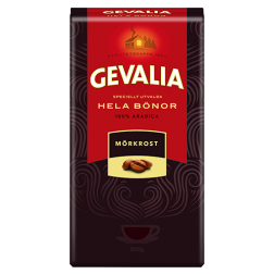 Gevalia Dark Roast coffee beans 500g