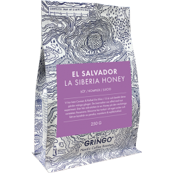 Gringo El Salvador La Siberia Honey coffeebeans 250g