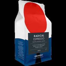 Gringo Radical Espresso Eco coffee beans 500g