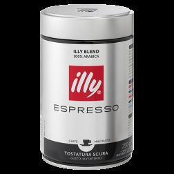 illy Espresso dark roast ground coffee 250g