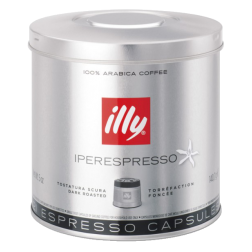 illy Iperespresso dark roast coffee capsules 21pcs