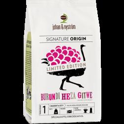johan & nyström Burundi Heza Gitwe coffee beans 250g