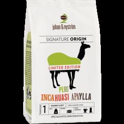 johan & nyström Peru Incahuasi Apaylla coffee beans 250g