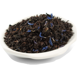 Kahls Earl Grey blå blommor Black Tea in loose weight 100g