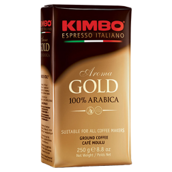 Kimbo Espresso Aroma Gold ground coffee 250g