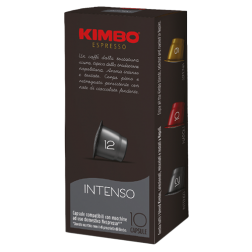 Kimbo Intenso coffee capsules for Nespresso 10pcs