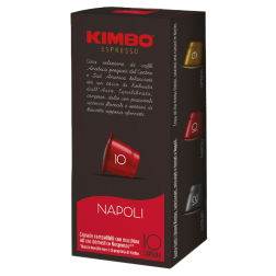 Kimbo Napoli coffee capsules for Nespresso 10pcs