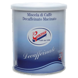 La Genovese Decaffeinato ground coffee 250g