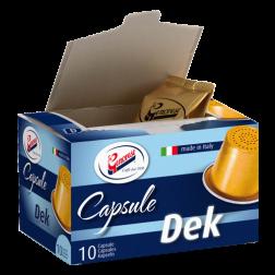 La Genovese Decaffeinato coffee capsules for Nespresso 10pcs