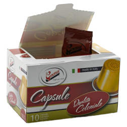 La Genovese Qualità Coloniale coffee capsules for Nespresso 10pcs