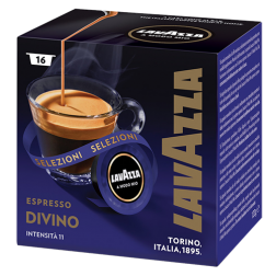 Lavazza A Modo Mio Espresso Divino coffee capsules 16pcs
