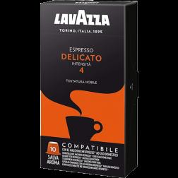 Lavazza Espresso Delicato coffee capsules for Nespresso 10pcs