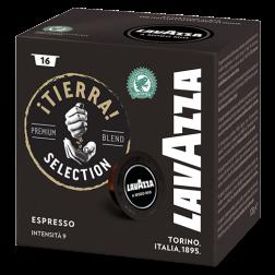 Lavazza A Modo Mio Tierra Intenso coffee capsules 16pcs