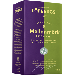 Löfbergs Lila Mellanmörk ground coffee 450g