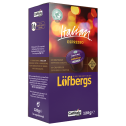 Löfbergs Lila Italian Espresso Caffitaly coffee capsules 16pcs