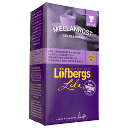 Löfbergs Lila Mellanrost ground coffee 500g